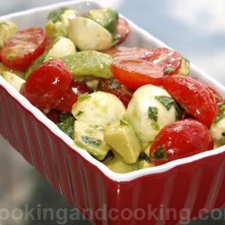 Bocconcini Avocado Salad.