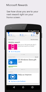 Microsoft Rewards- screenshot thumbnail