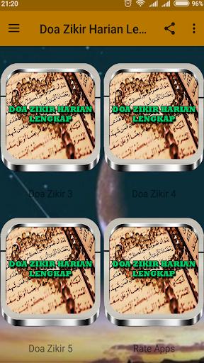 Doa Zikir Harian Lengkap 1.3 screenshots 2