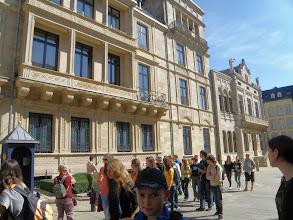 Photo: 1. den - V čele tohoto jediného velkovévodství na světě je Henri I., který sídlí zde (Palais Grand-Ducal - Luxembourg)