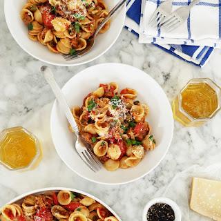 Very Versatile Orecchiette with Sausage + Parmesan
