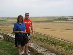 Photo: Pam & Martin at Mudarra Castle