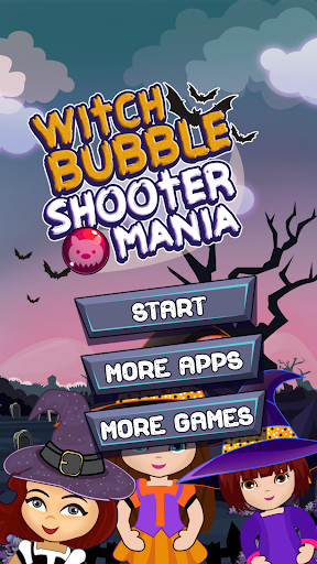 Witch Bubble Shooter Mania