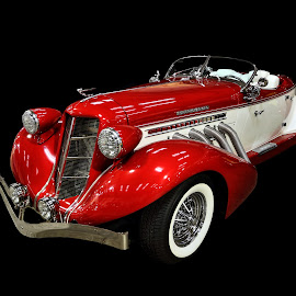 Supercharged by JEFFREY LORBER - Transportation Automobiles ( red, rust 'n chrome, red car, auburn, lorberphoto, sports car )