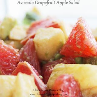 Avocado Grapefruit Apple Salad