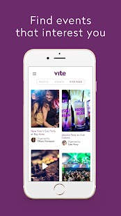 Vite Exclusive Events- screenshot thumbnail