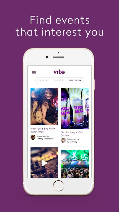 Vite Exclusive Events- screenshot