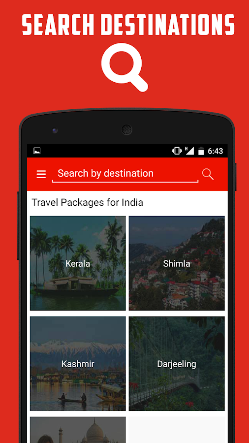 Travel Packages for Holidays- screenshot