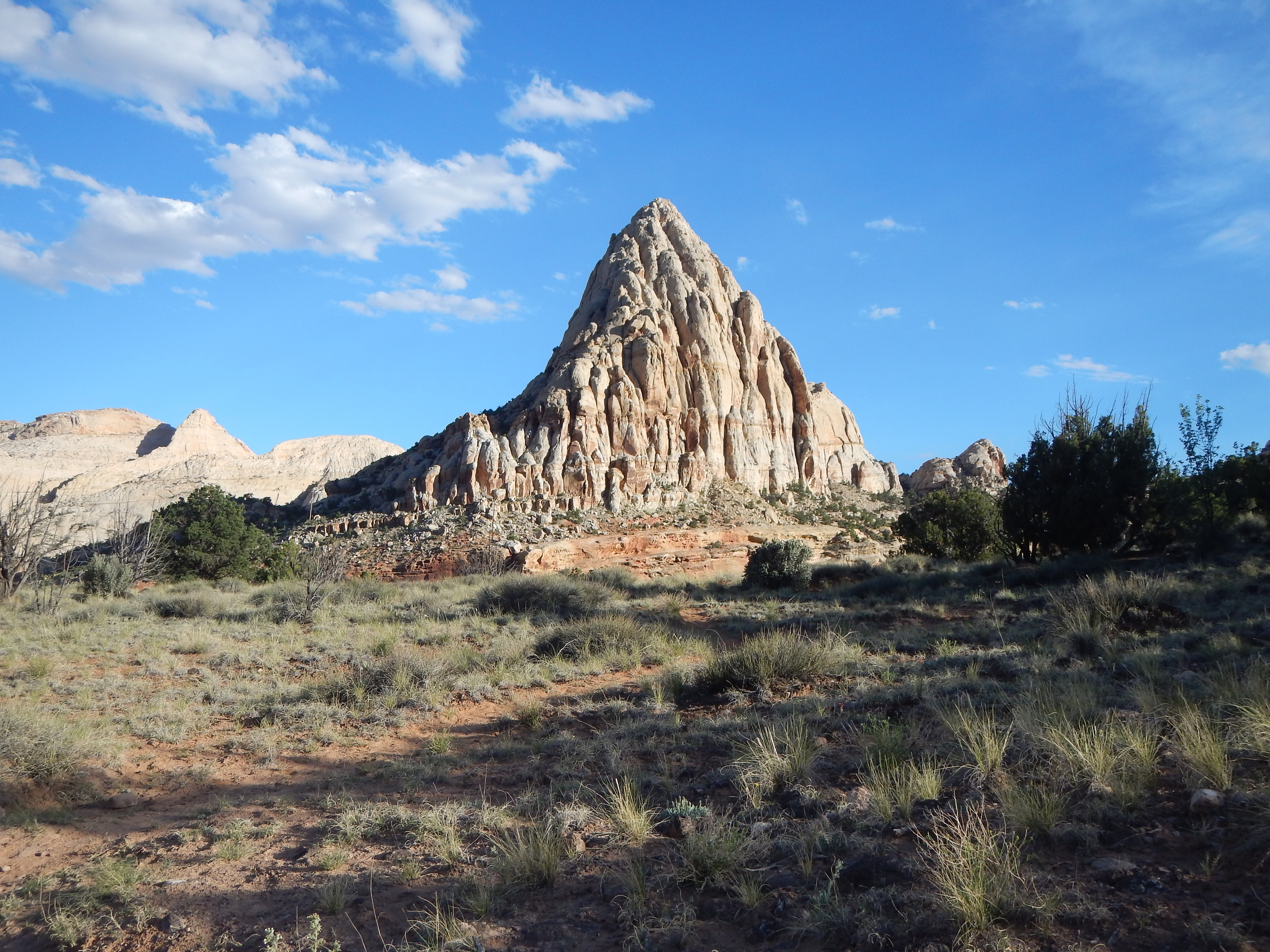 Photo: One of many striking rock formations in the park.