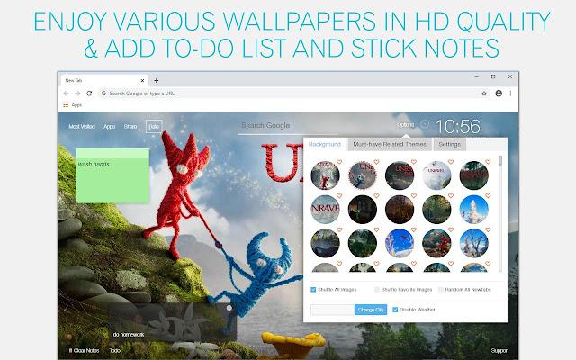 Unravel Wallpaper HD Unravel New Tab