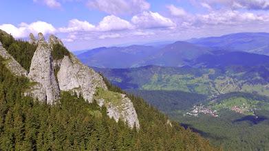 Photo: Kilátás északi irányba /Lent Durau,túristaközpont/
