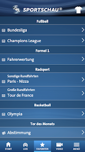 SPORTSCHAU Screenshot