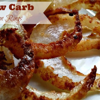 Low Carb Onion Rings.