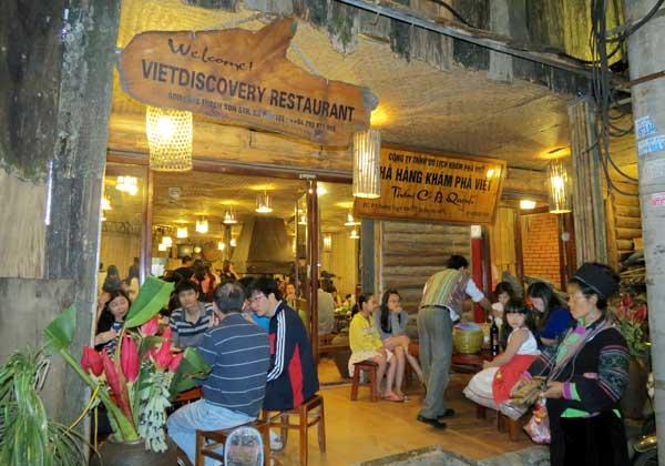 Nhà hàng thắng cố quán anh Quỳnh nổi tiếng với nhiều món ăn ngon