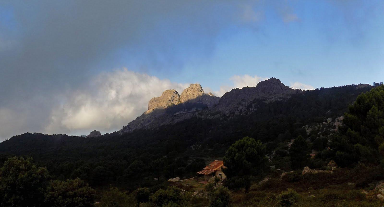 Capellu/Capellucciu depuis la crête de Bitalza (photo Olivier Hespel)