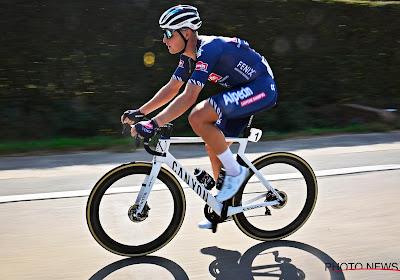 """Tim Merlier sprintte niet mee voor de zege: """"Ik had mee kunnen rijden met Mads Pedersen"""""""