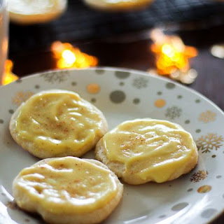 Soft Eggnog Cookies - (Slice and Bake!) Recipe