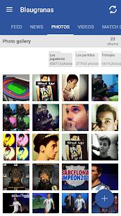 FC Barcelona Blaugranas - screenshot thumbnail