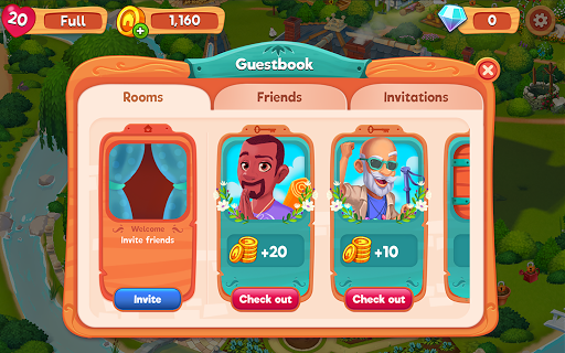 Delicious B&B: Match 3 game & Interactive story 1.10.11 screenshots 10