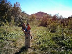 Photo: Mommy and Finn Apple Hike