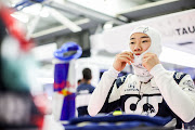 Yuki Tsunoda of Scuderia AlphaTauri and Japan during practice ahead of the F1 Grand Prix of Bahrain at Bahrain International Circuit on March 26 2021.