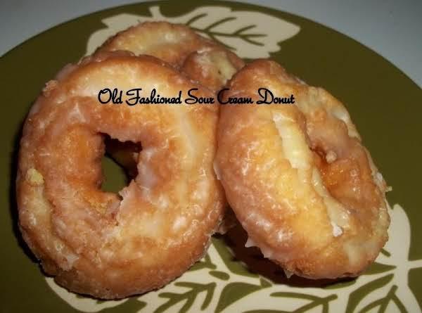 Old Fashioned Sour Cream Doughnuts