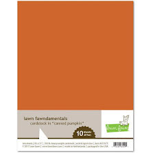 Lawn Fawn Cardstock - Canned Pumpkin