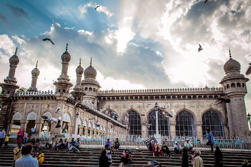 Mecca Masjid  by Murthy Putrevu - Buildings & Architecture Public & Historical ( #mecca masjid #hyderabad #historical #tourism )