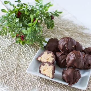 Festive Chocolate Peanut Butter Balls