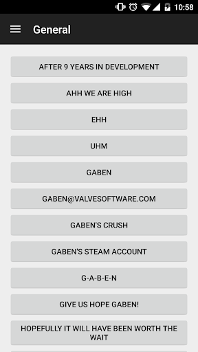 Gaben Soundboard