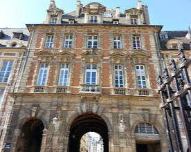 Photo: Place des Vosges -Oldest square in Paris, knight jousts were held here; and later hipsters took over the space.