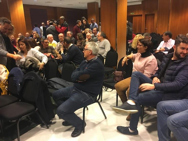 Con carácter extraordinario se reunieron los afiliados de Cs Almería,
