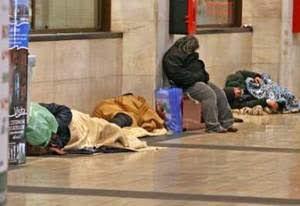 senzatetto a Catania a palaspedini