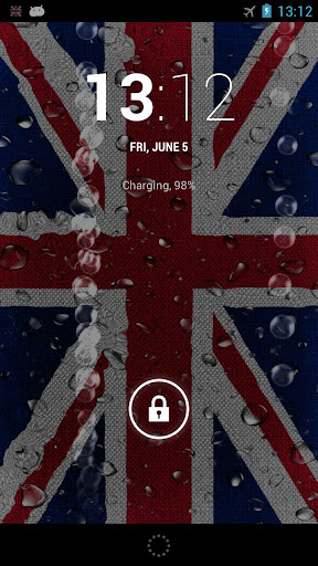 UK Flag Ripple LWP ☆