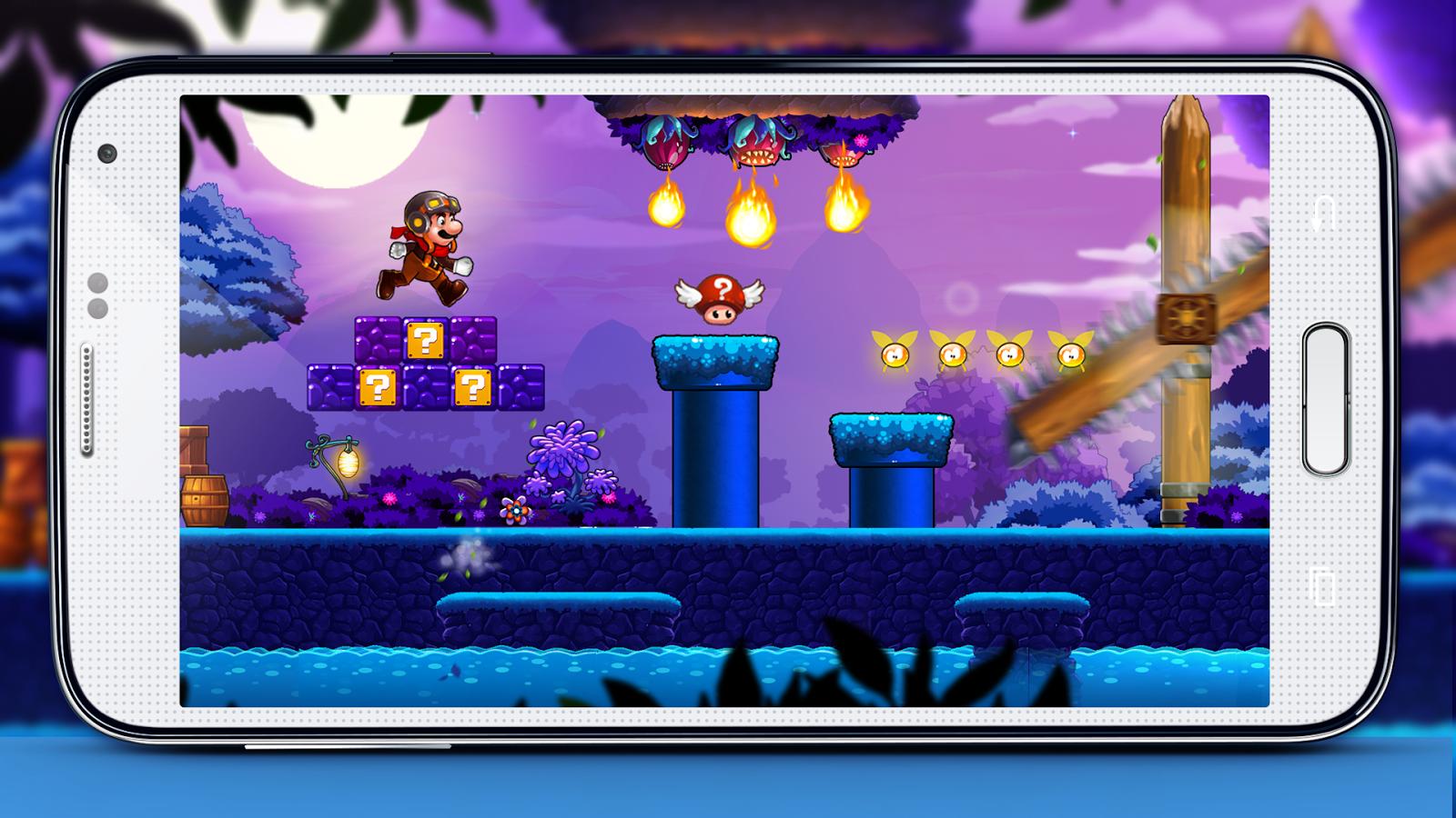 Super Mushroom Boy World– captură de ecran