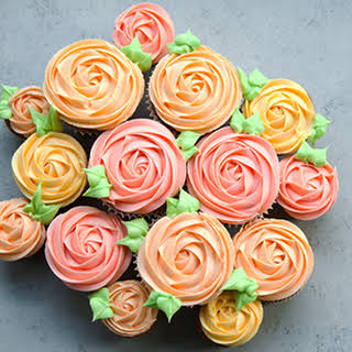 Spectacular Spring Carrot Cupcake Bouquet.