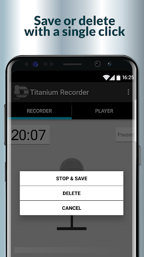 Titanium Voice Recorder with number ID 1.5.197 screenshots 2