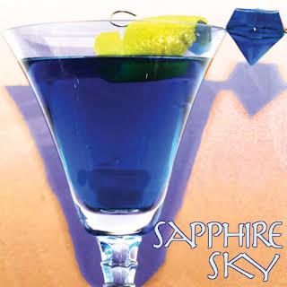 Sapphire Sky - Sapphire Blue Martini.