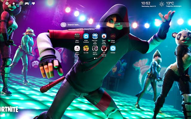 K-Pop Ikonik Fortnite Skin Theme HD