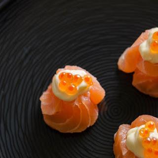 Salmon Sa-sushi-mi.