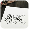 Calligraphy Lettering icon