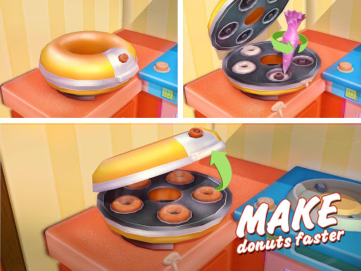 Donut Maker 3d - Sweet Bakery & Cake Shop 1.0 screenshots 8