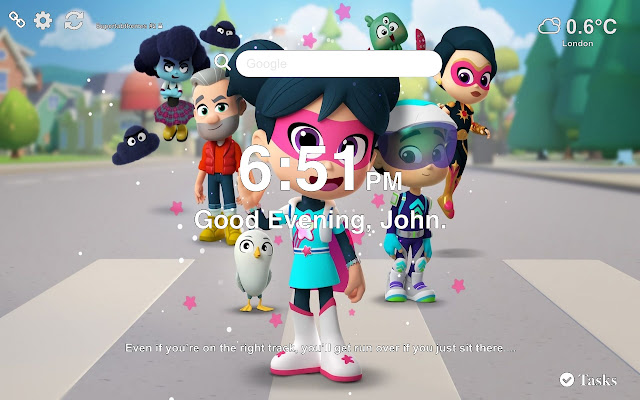StarBeam HD Wallpapers New Tab