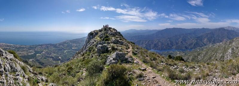 Cruz de Juanar - Lastonar - La Concha - Istán