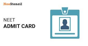 NEET 2019 Admit Card Released - Download NEET Hallticket from official website ntaneet.nic.in