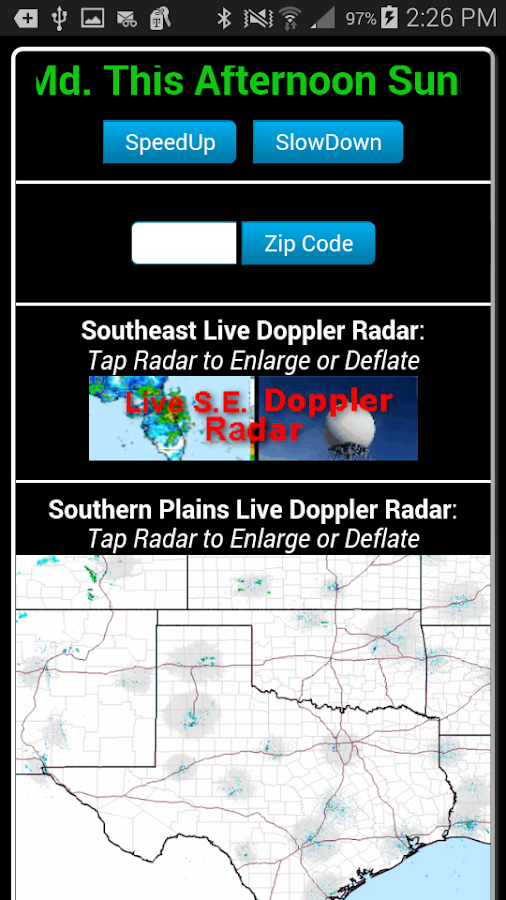 South & Southeast Weather Pro- screenshot