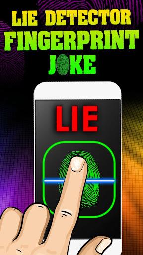 測謊儀指紋笑話