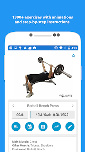 JEFIT Workout Tracker Gym Log v9.11 (Pro)