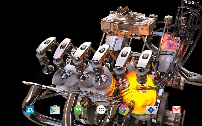 New 3d Engine Live Wallpaper Aplicaciones Android En