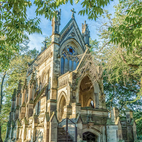 The Dexter Mausoleum by Mike Svach - Buildings & Architecture Architectural Detail ( old, tomb, gothic, mausoleum, cemetery )